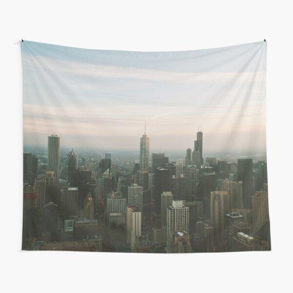 URBAN EXODUS 360 CHICAGO UNITED STATES MODERN PRINTING 1Pc #27222276 Tapestry
