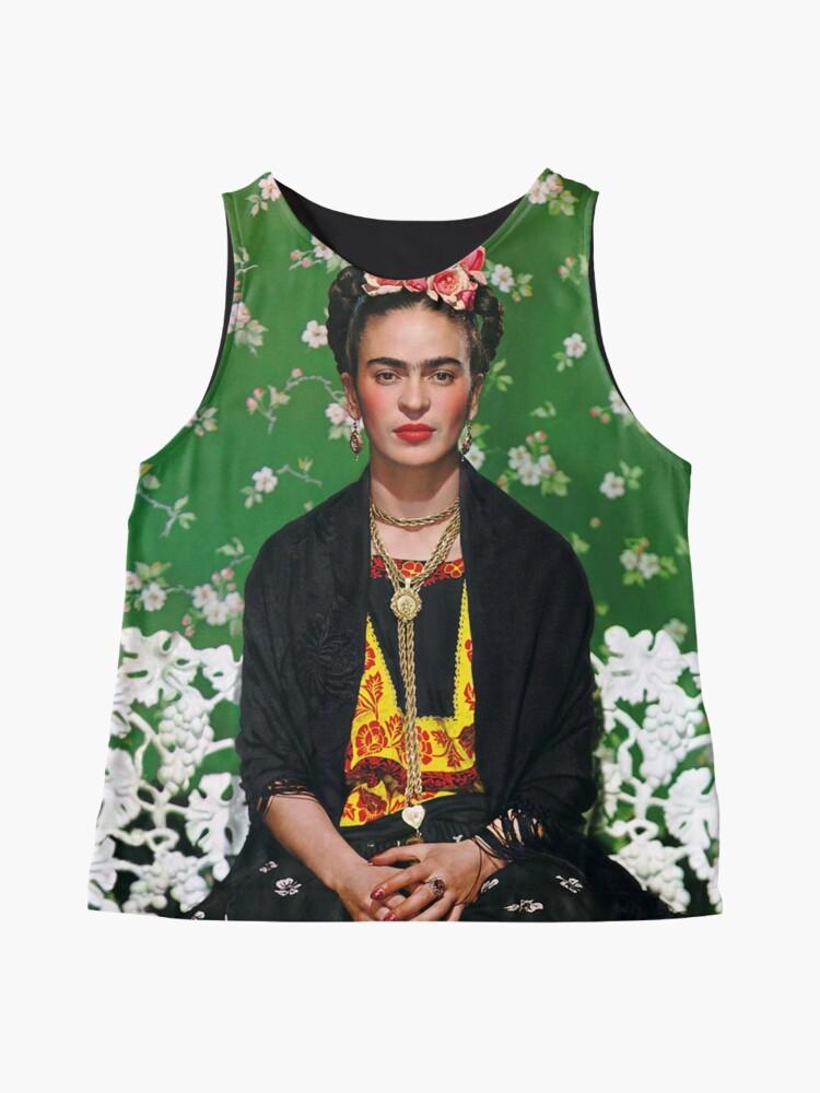 Alternative Ansicht von Frida Kahlo Vouge Cover-Poster von hoher Qualität Kontrast Top