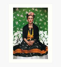 Frida Kahlo Vouge Cover poster high quality Art Print