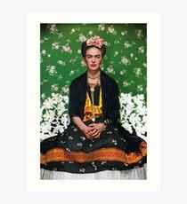 Frida Kahlo Vouge Cover-Poster von hoher Qualität Kunstdruck