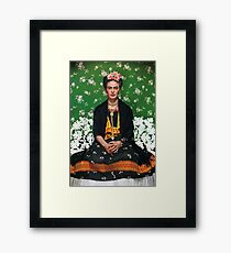 Frida Kahlo Vouge Cover poster high quality Framed Print