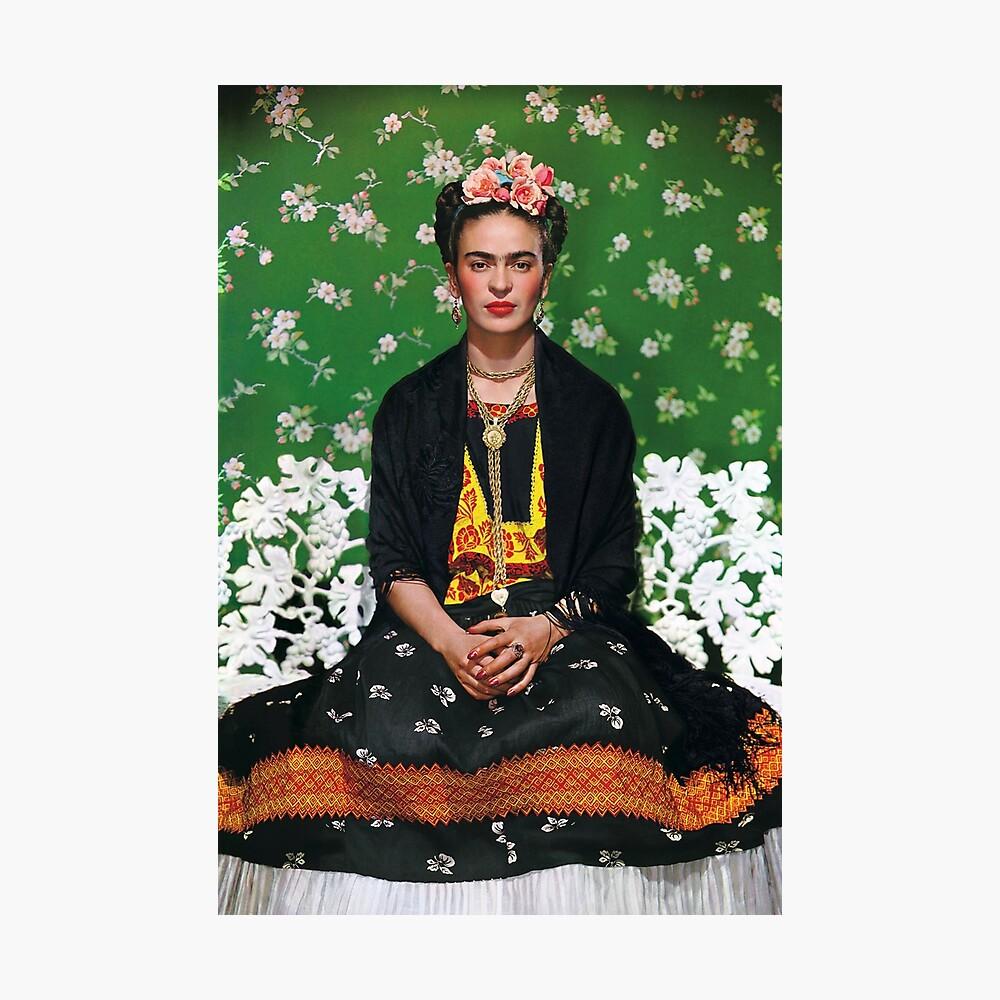 Frida Kahlo Vouge Cover-Poster von hoher Qualität Fotodruck
