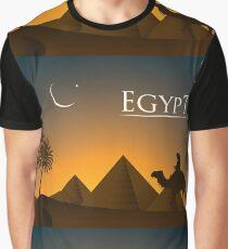 Egypt Landscape Traveller Graphic T-Shirt