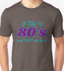 80's Inspired Design Unisex T-Shirt