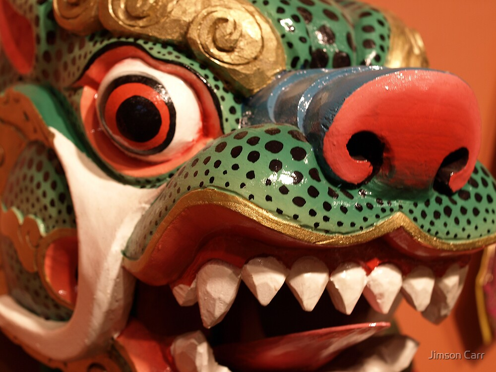 Cham Mask by Jimson Carr