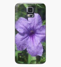 Funda/vinilo para Samsung Galaxy Mexican Petunia Flowers