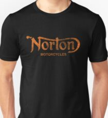 NORTON MOTORCYCLES DISTRESSED VINTAGE STYLE T-Shirt