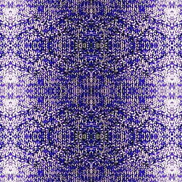 Blue Knitting by Feraloidies