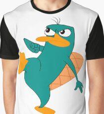 Perry El Ornitorrinco Graphic T-Shirt