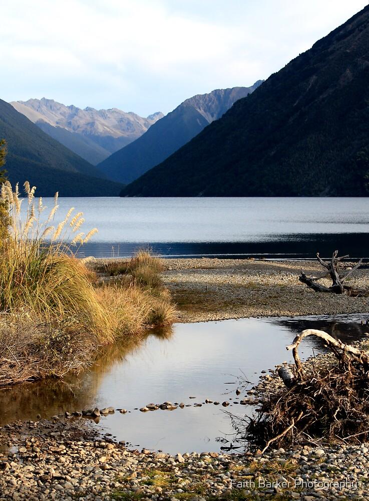 Lake Rotoiti by Faith Barker Photography