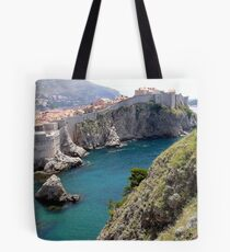 Dubrovnic Old town wall Tote Bag