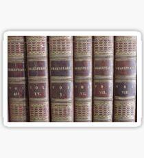 Shakespeare: Speaks Volumes Sticker