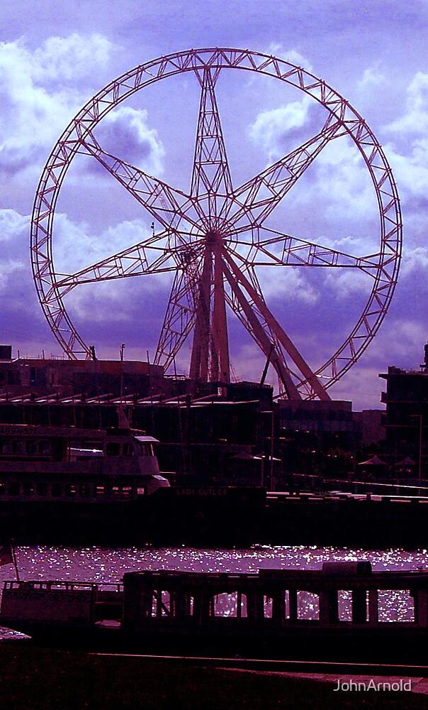 Purple Wheel by JohnArnold