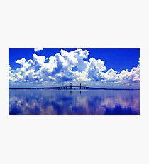 Sunshine Skyway Photographic Print