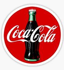 Coca Cola Retro Sticker Sticker