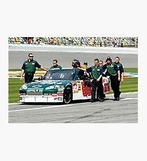 Amped Up Dale Jr. Photographic Print