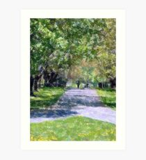 Cross Roads Art Print