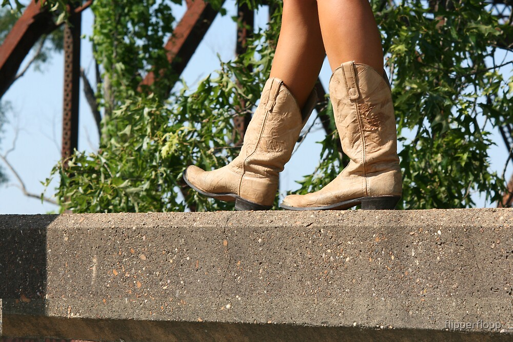these boots are for walkin by flipperflopp