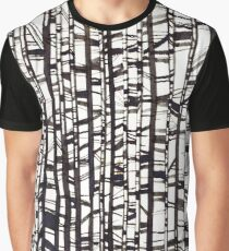Abstract lines Graphic T-Shirt