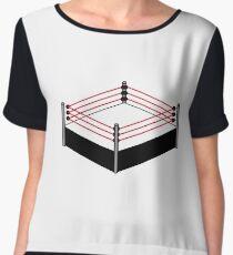 Wrestling Ring Chiffon Top