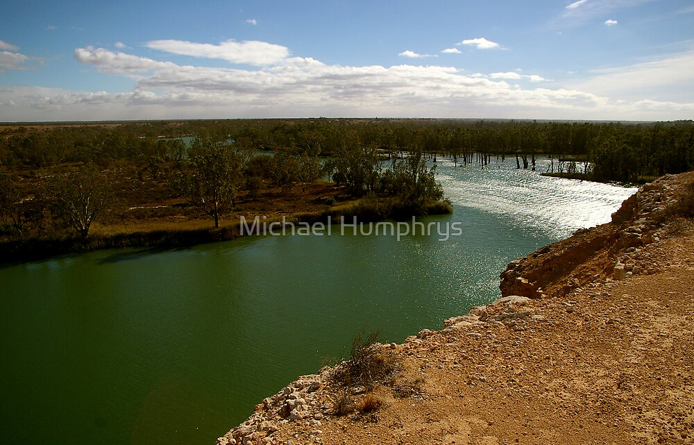 The Murray River 2 by Michael Humphrys