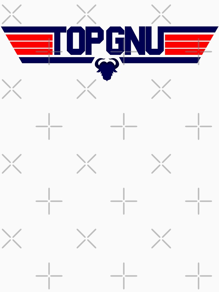 Top Gnu T-Shirt, Sticker and more! by MrFoxhead