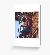 Tom Holland - Spidey Greeting Card