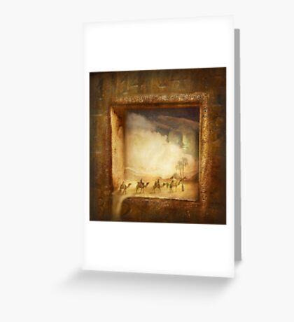 Caravanserei Greeting Card