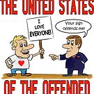 The United States of the Offended by pixhunter