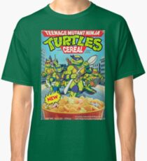 TMNT cereal Classic T-Shirt