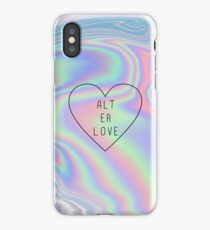 alt er love (skam)  iPhone Case/Skin