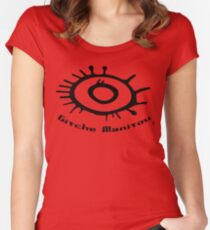 Gitche Manitou. Women's Fitted Scoop T-Shirt