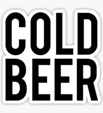 Ice Cold Beer Sticker
