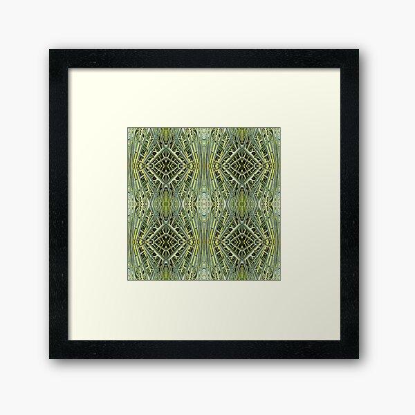 Tesselated nature Framed Art Print