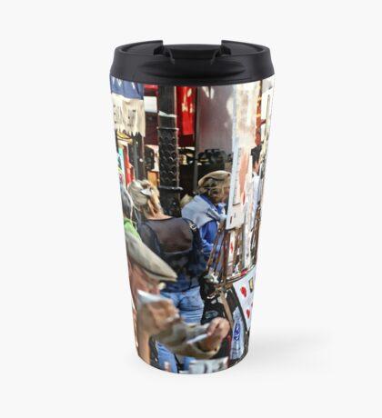Montmartre café, Paris Travel Mug
