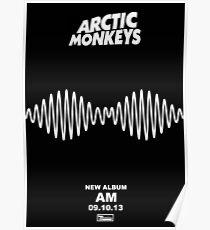 Arctic Monkeys - AM   Album Poster Poster