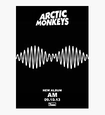 Arctic Monkeys - AM | Album Poster Photographic Print