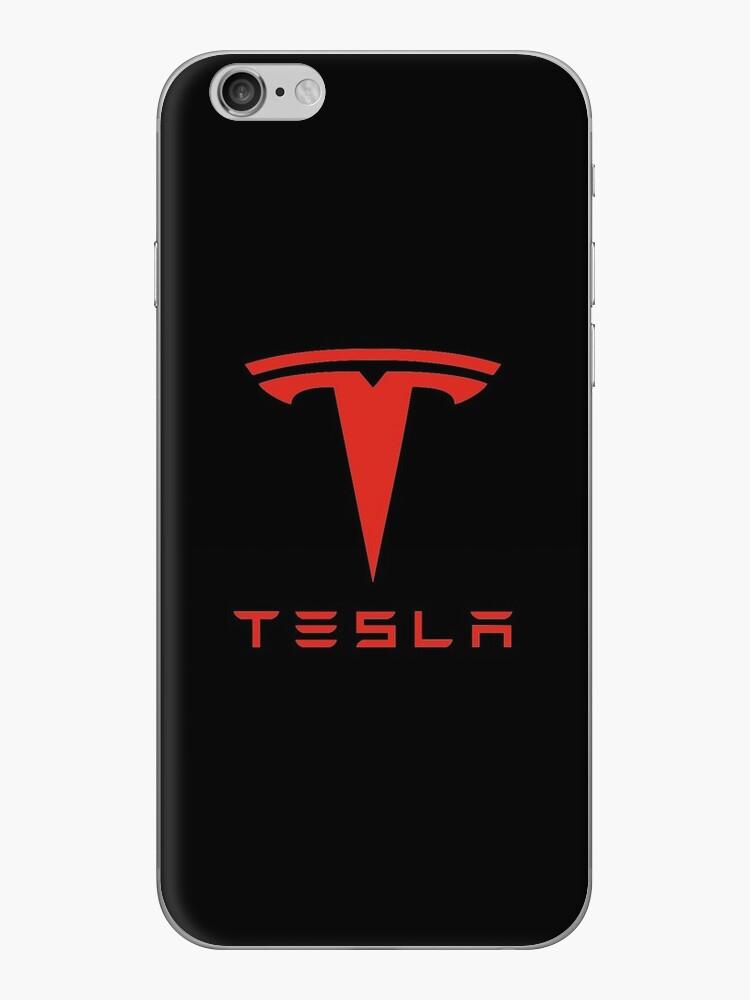 Tesla Red Logo by Robert Dyer