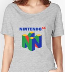 Nintendo 64 Merchandise Women's Relaxed Fit T-Shirt