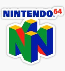Nintendo 64 Merchandise Sticker