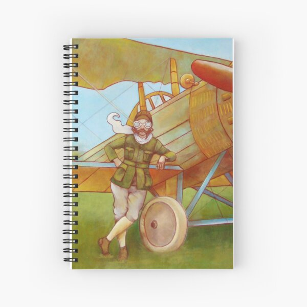Aviator Spiral Notebook