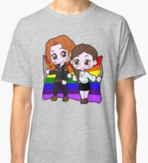 Rainbow Wayhaught Classic T-Shirt