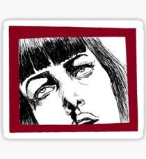 Near Death Experience - Pulp Fiction Sticker