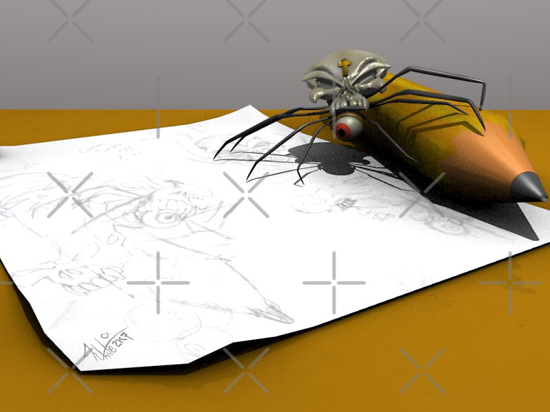 SEspider Productions Mascot by SEspider