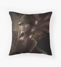 Sherlock CumberSmaug Throw Pillow