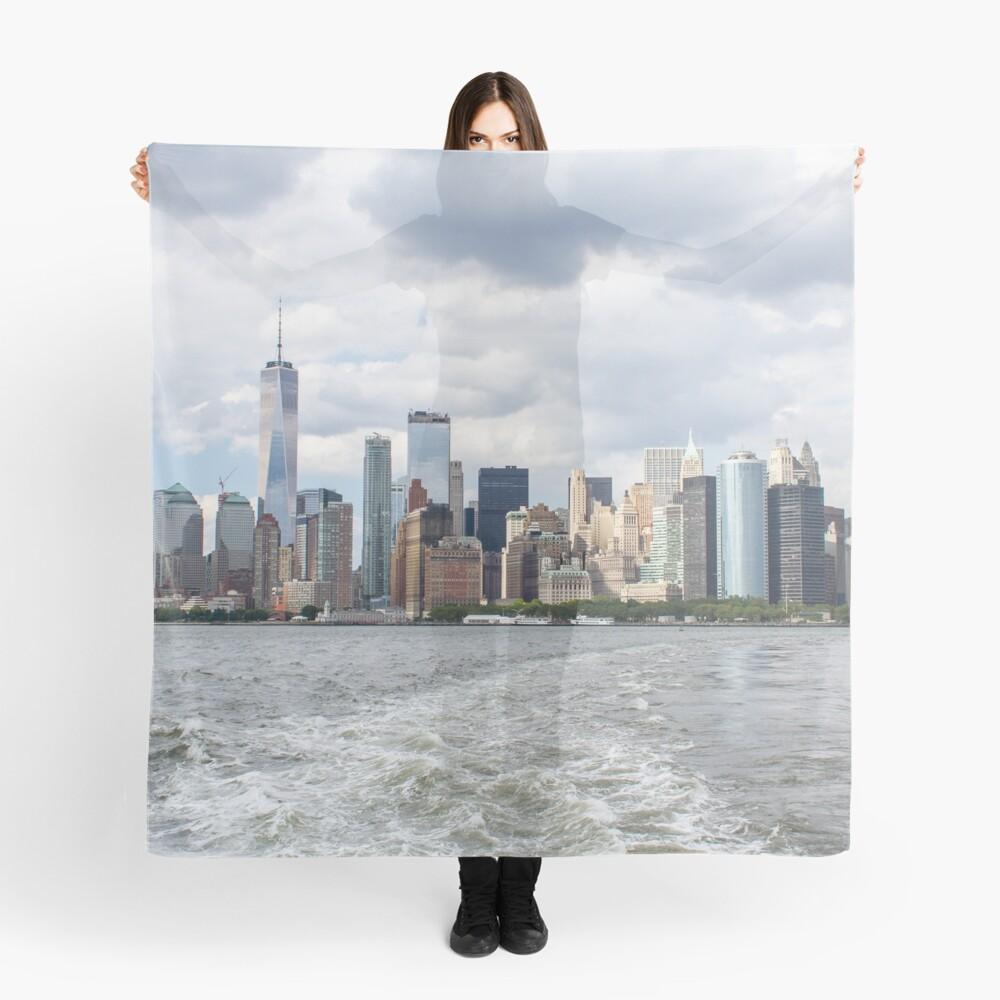 NYC Skyline 2017 Scarf