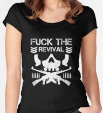 F*ck The Revival Club Women's Fitted Scoop T-Shirt