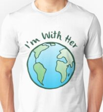Mother Earth Climate Change Global Warming T-Shirt T-Shirt