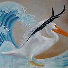 «Pelicano en Kanagawa» de Val Garcia Duran