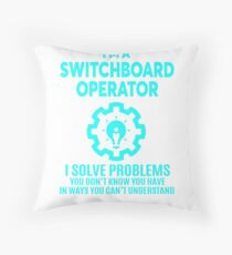 SWITCHBOARD OPERATOR   NICE DESIGN 2017 Throw Pillow